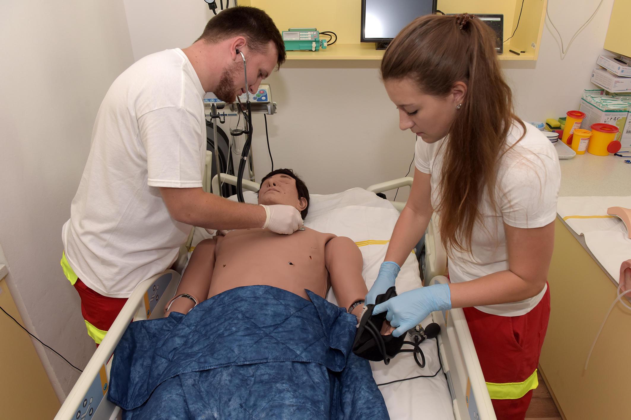 Výukové modely Fakulty zdravotnických studií