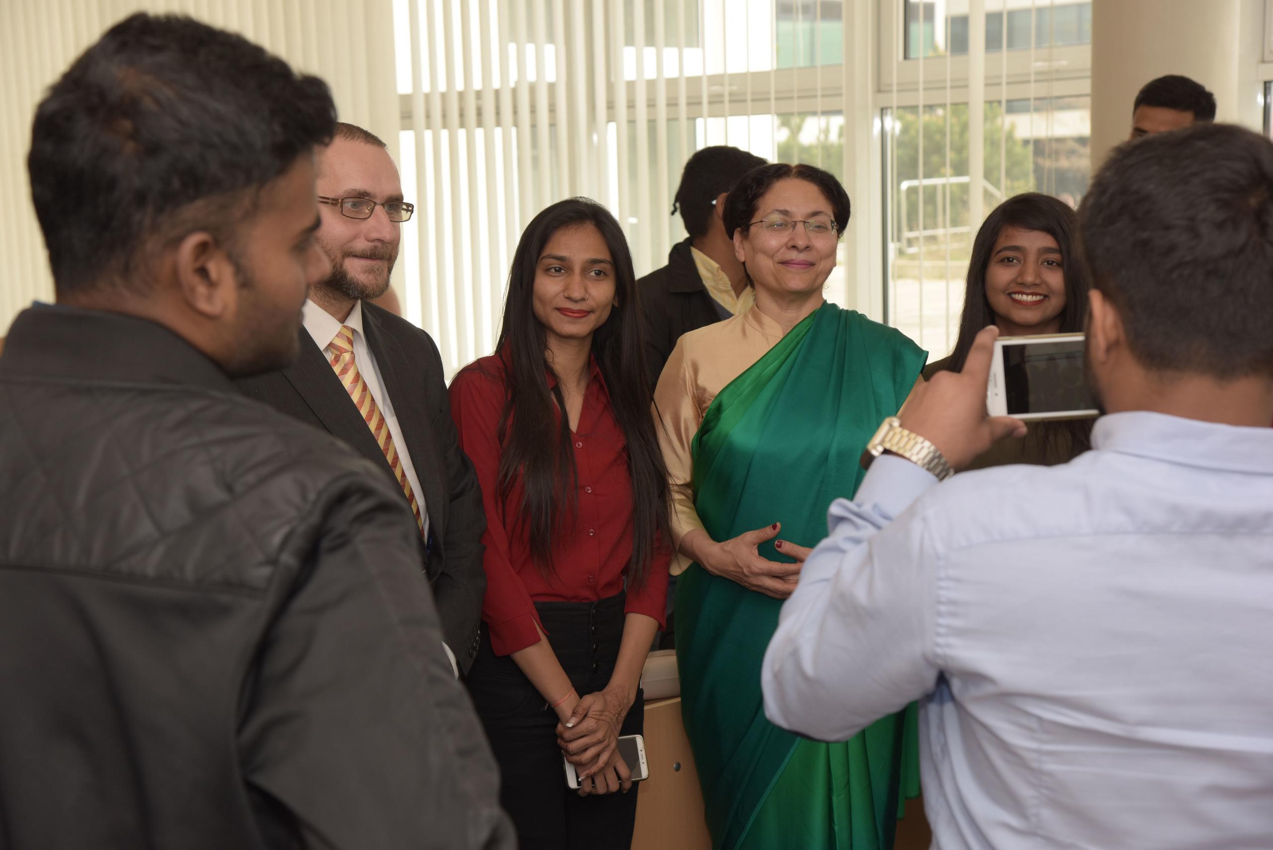Návštěva velvyslankyně Indické republiky Narinder Chauhan