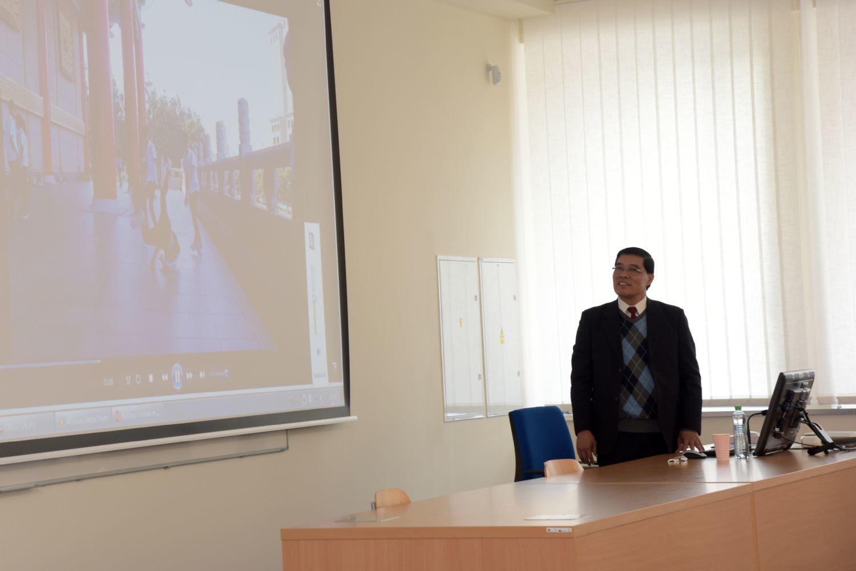 Přednáška Dr. Johnnyho Shieha z Kao Yuan University - 10. 5. 2017