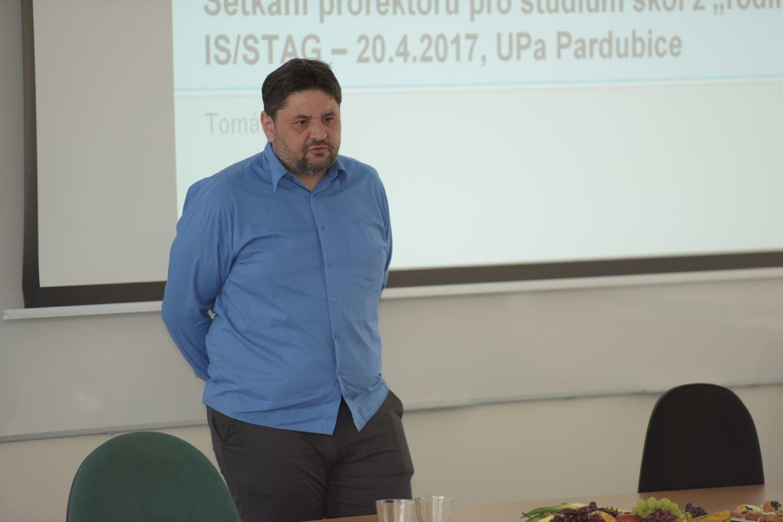 Setkání prorektorů pro studium - 20. 4. 2017