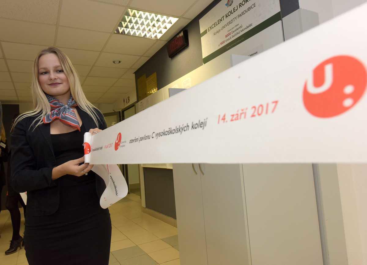 Slavnostní otevření kolejí C 14. 9. 2017