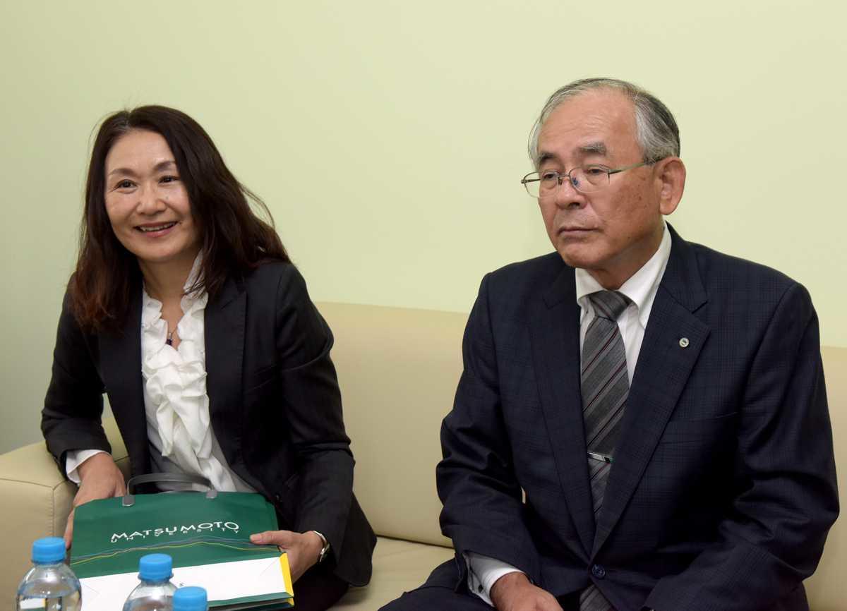 Delegace z partnerské japonské Matsumoto University 18. 9. 2017