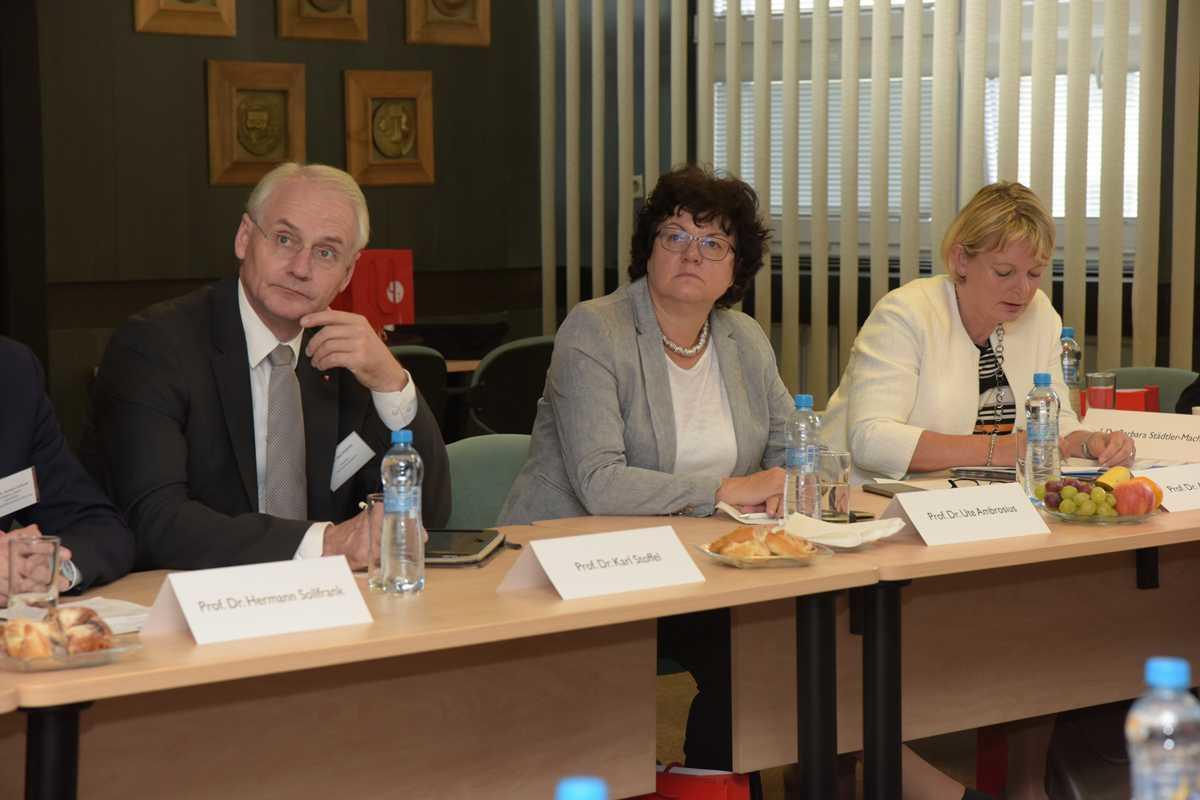 Delegace bavorských rektorů 19. 10. 2017