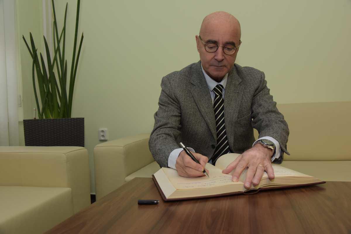 Velvyslanec Belgického království J. E. Grégoire Vardakis 31. 10. 2017
