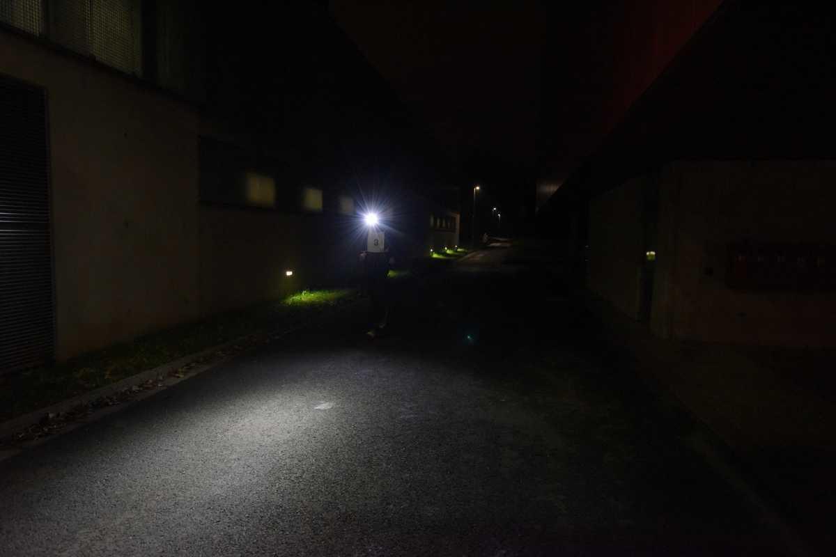 Univerzitní noční běh 9. 11. 2017